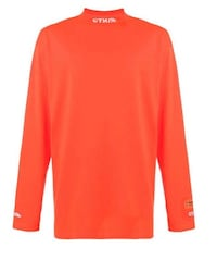 Heron Preston Orange Mock Neck Kitchener, N2A 2G7