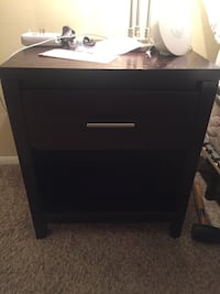 Nightstand dark brown  San Diego, 92103