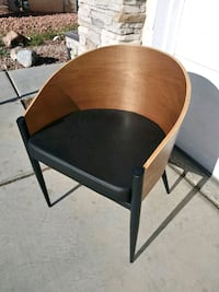 New. Wooden/ Metal Accent or Office Chair