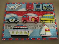 Melissa and Doug Transportation Wood Block Puzzle Winnipeg