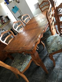 Dining Table for 8 & China Cabinet for $400 OBO Corona, 92882