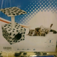 NEW IN PACKAGE. Cat scratching post with attached  Edmonton, T6X 1J9