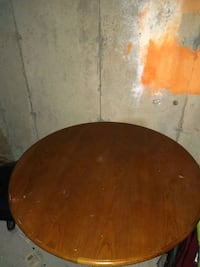 round brown wooden table top Edmonton, T6L 4K1