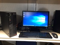 Lenovo thinkcenter dekstop comes with hd monitor 20 inch keyboard an.. Medford