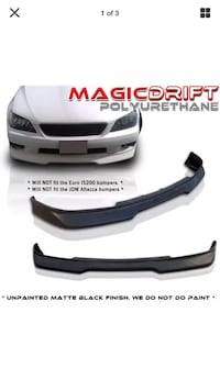 Lexus IS300 Front lip Lemoore, 93245