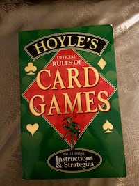 Hoyles book for the rules of card games