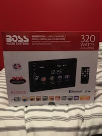Boss Double Din Car Stereo Mississauga