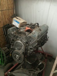 gray and black car engine