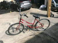 red and black commuter bike Los Angeles, 90018