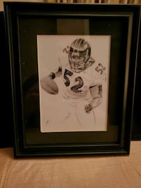 Ray Lewis 8x10 picture frame  Baltimore, 21206