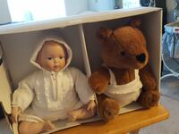 baby doll and bear plush toy Peterborough, K9H