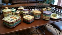Set of plates, bowls, accessories  Ellicott City, 21042