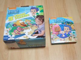 Bubble Guppies bundle (floor puzzle & look and find book)