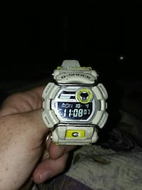 white Casio G-Shock digital watch Maryville, 37804