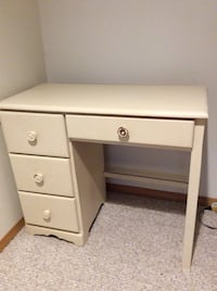 Cream Coloured Wood Desk 1960 km