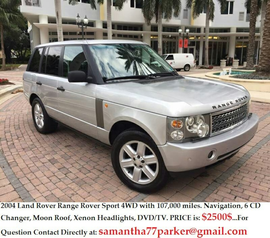 Used Silver Land Rover Range Rover Sport 4wd 2004 In Redding