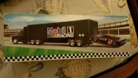 Mobil 1 Tractor Trailer with car  Willow Street