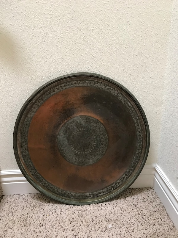 Used Large Brass Wall Plate Decor For Sale In Pleasanton Letgo