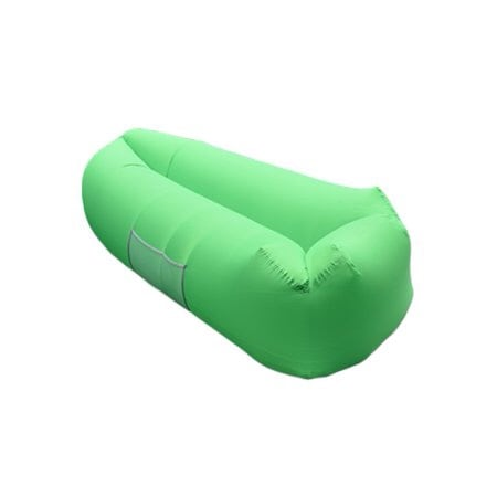 Lime green Inflatable cool air chair