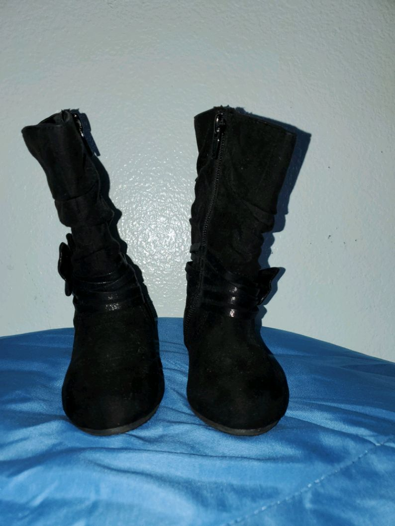 Photo Girl Toddler Boots