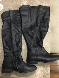 Black over the knee boots size 37 545 km
