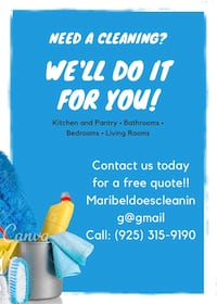 House cleaning Pleasanton, 94566