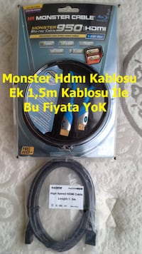 Monster HDM Cable 2m BluRaY 8478 km