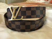 damier ebene Louis Vuitton belt Elmwood Park, 07407
