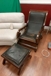 chair antique chais with ottoman