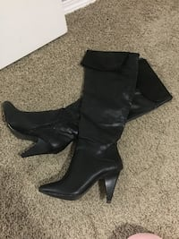 New Never Worn Expression Leather Boots  Edmonton, T6L