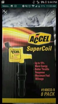 Ford accel supercoil 8pk #140033-8 Baltimore, 21218