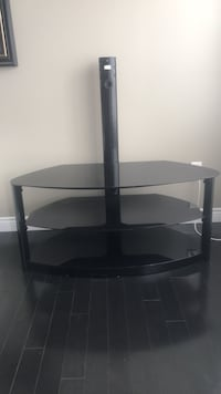 black wooden TV stand with mount Halifax, B2Y 4V4
