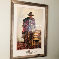 RAMROD by Gordon Snidow Western Signed Print Home Decor Framed Picture Firestone, 80504