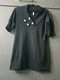 black and gray button-up dress Ahmedabad, 380059