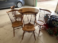 Ethan Allen table and chairs West Des Moines, 50265