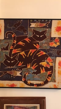 18x18 beautiful cats prints  Vancouver, V6H 1S7