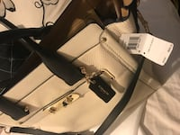 White coach pebbled leather two-way tote bag Manteca, 95336