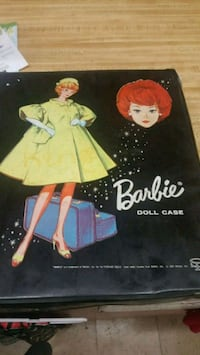 1963 Barbie Doll Case and Contents Columbia, 38401