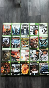 Assorted xbox 360 game cases Vancouver, V6Z 1Z1