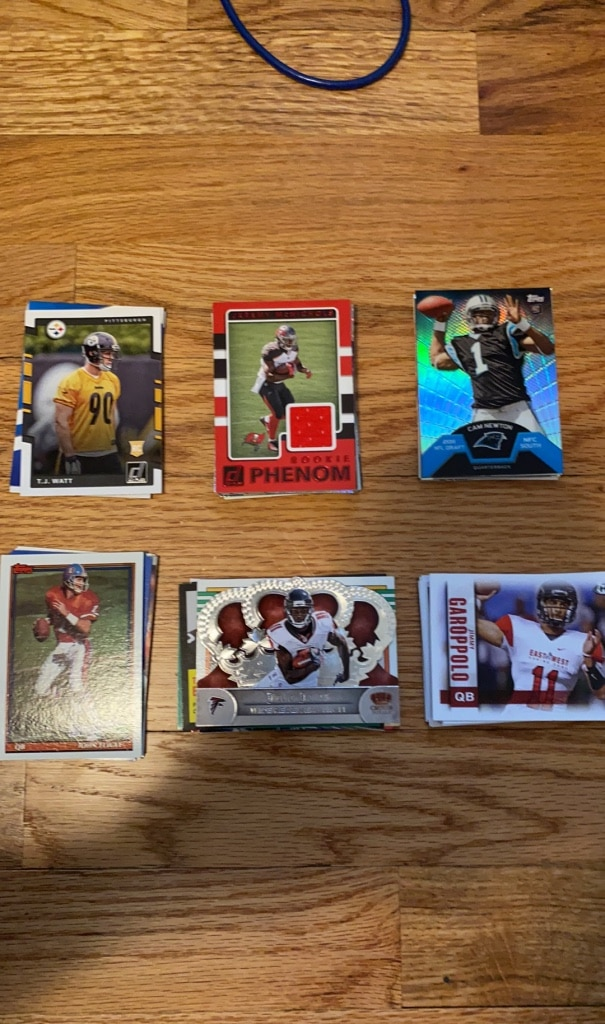 Photo Very rare football cards, $10 for 20