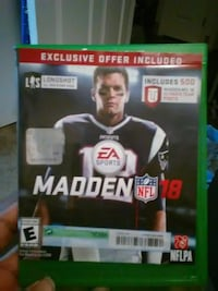 Madden NFL 18 Xbox One game exclusive offer Sacramento, 95825