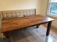 brown wooden drop-leaf table 39 km