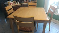 Square Table & 4 Chairs