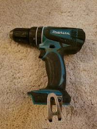 black and blue Makita cordless hand drill Falls Church, 22046