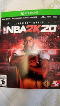 Digital download copy full game of NBA 2K20 for xbox one $40 Oshawa, L1J 4L5
