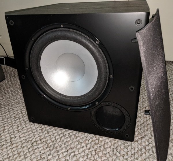 "Polk Audio PSW108 BLACK 10/"" Monitor Series Powered Subwoofer NEW"