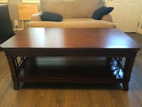 rectangular brown wooden coffee table Thousand Oaks, 91362