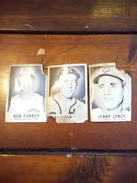 vintage three baseball card collections Freeport, 16229