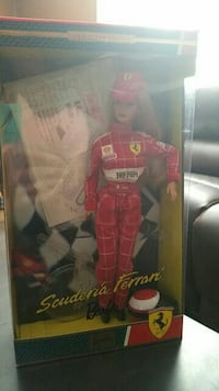 Barbie Scuderia Ferrari Doll Collector Edition 200 619 km