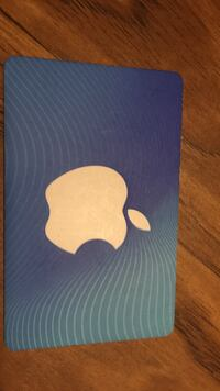 Personalized gifts apple & iTunes 50$ card Vancouver
